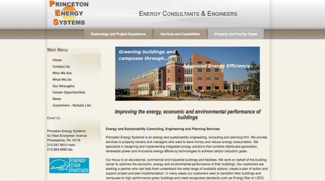Princeton Energy Systems