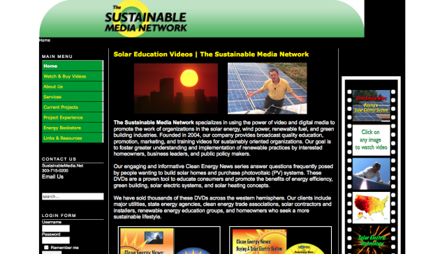 Sustainable Media Network